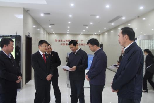 省委常委、省委政法委书记王祥喜莅临我院调...